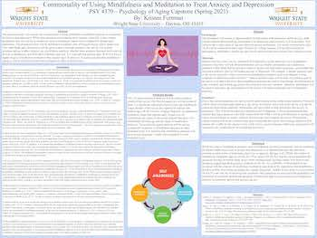 Commonality of Using Mindfulness and Meditation to Treat Anxiety and Depression