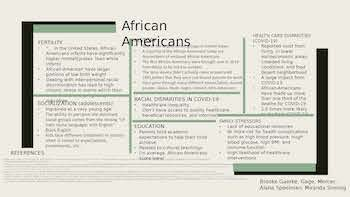 African American Culture and Healthcare