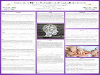 Resilience and the Effect that Attachment Has on Adolescents in Relation to Trauma