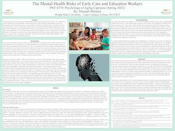 Mental Health Risks in Early Care and Education Workers