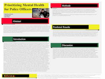 Prioritizing Mental Health for Police Offices